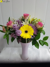 General-Sweet Love vase and colors are subject to change based on availability