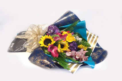 Geno's Valentines  Wrap Flowers
