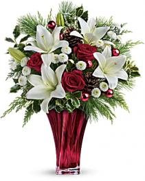 Geno's Wondrous Winter Bouquet