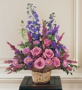 Gentle Comfort Arrangement Funeral Flowers
