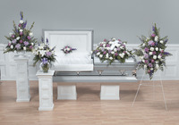 Gentle Expressions  Funeral arrangement set