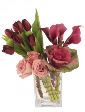 Gentle Magenta Arrangement in Irving, TX | Flowers of Las Colinas