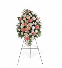 Gentle Thoughts Spray floral arrangement