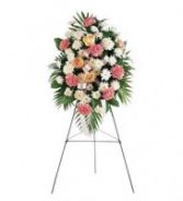 Gentle Thoughts Spray Funeral Spray