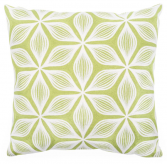 Geometric Embroidered Cushion