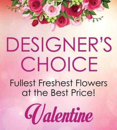 Georgia's Custom Design Fresh Floral Arrangement