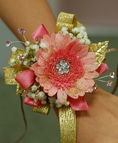 GERBER DAISY Corsage Select Colors