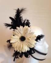 Gerber Daisy Hair Piece