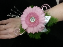 Gerber Delight Prom Corsage