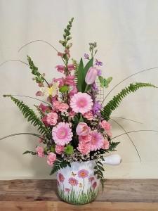 Gerber Garden Pot  Shop Special in Paris, KY | Chasing Lilies Floral