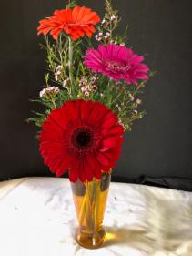 Gerber vase