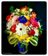 Gerbera Cheer 3D Signature Design