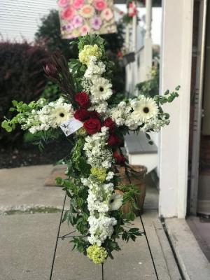 Gerbera Cross  cross in Wilkes Barre, PA   Kelly Ann's Floral