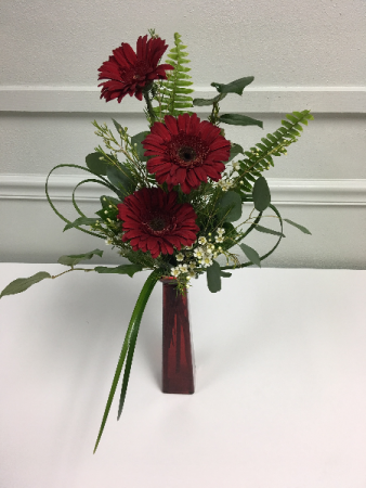 Gerbera Daisy Arrangement Vase Arrangement In Mount Vernon Il The