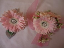 GERBERA DAISY CORSAGE & BOUTONNIERE PROM FLOWERS