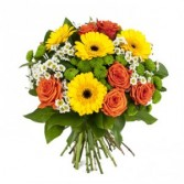 Gerbera Daisy Delight Flower Bouquet