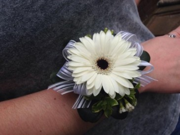 Gerbera Daisy Wrist Corsage