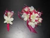 Pink Blush Corsage