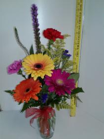 Gerbera Delight Vase