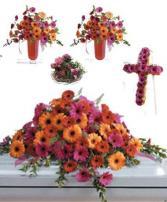 Gerbera Funeral Premium 1 Package
