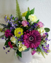 Gerbera Garden Pitcher Forever Floral