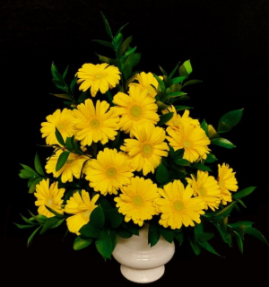 Gerbera Garden Sympathy Floral in Plainview, TX | Kan Del's Floral, Candles & Gifts