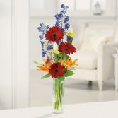Gerbera Greetings  Vase Arrangement