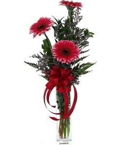 Gerberas Make You Smile Bud Vase in Port Stanley, ON   Flowers By Rosita