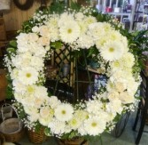 Gerbera Sympathy Wreath Wreath