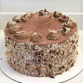German Chocolate Cake Sweet Blossoms