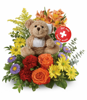 Get Better Bouquet HEV523A in Henniker, NH | HOLLYHOCK FLOWERS