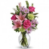 Pink Compation Get Well Flowers