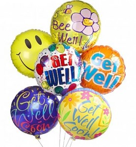 Get Well Balloon Bouquet in New Port Richey, FL | FLOWERS TODAY FLORIST