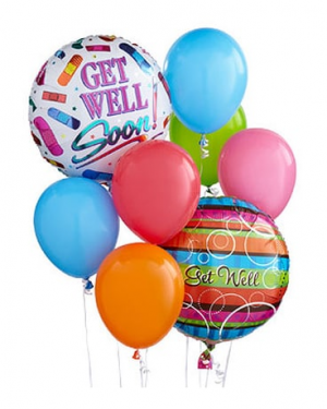 Get Well Balloon Bouquet  in Mcdonough, GA | Parade of Flowers