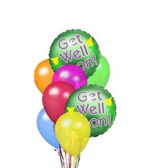 Get Well Balloon Bouquet Balloons