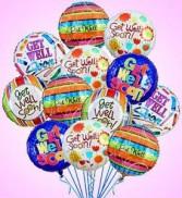 Get Well Balloons Mylar