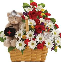 GET WELL BASKET!  in Germantown, MD | GENE'S FLORIST & GIFT BASKETS