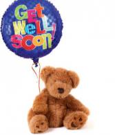 Get Well Bear & Ballons