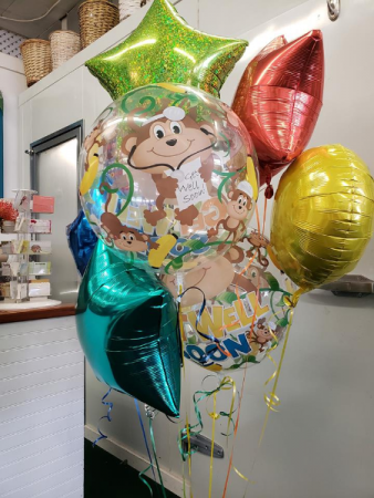 Get Well Bouquets  Balloons
