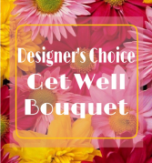 GET WELL DESIGNER'S CHOICE CUSTOM ARRANGEMENT in Asheville, North Carolina | The Extended Garden Florist