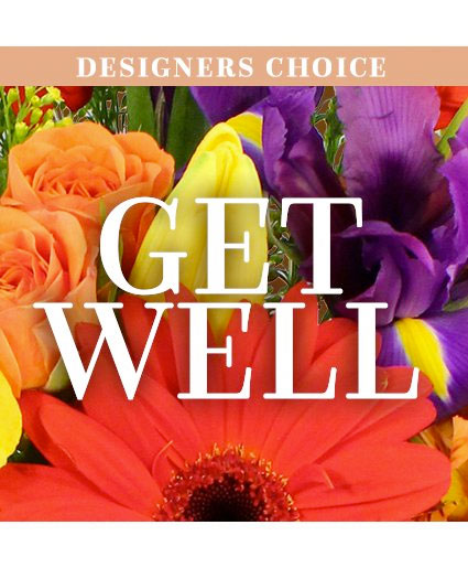 Get Well Flowers Designer's Choice