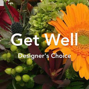 Get Well Flowers Bouquet
