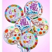 Get Well Mylar Balloon Gift