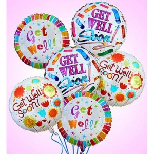 Get Well Mylar Balloon Gift in Richland, WA | ARLENE'S FLOWERS AND GIFTS