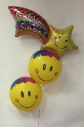 Shooting Star Get Well Balloons