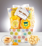 Get Well Smiles Gift Basket
