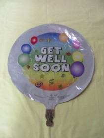 Get Well Soon Balloon 1 Mylar Balloon