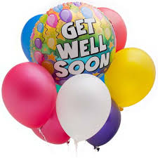 Get Well Soon Balloon Arrangement