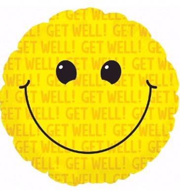 """""""Get Well Soon"""" Balloon Bouquet"""