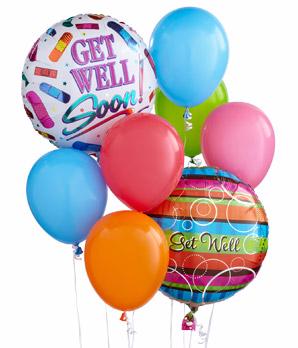 Get Well Soon Balloon Bouquet